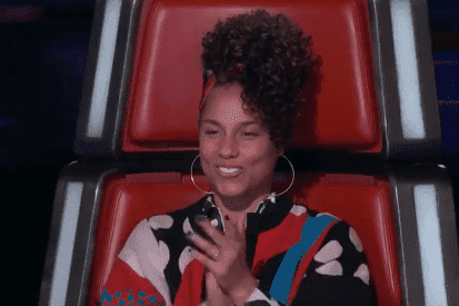 Alicia Keys on The Voice. | Source: YouTube/ Disney Shows and Disney Movie Trailers