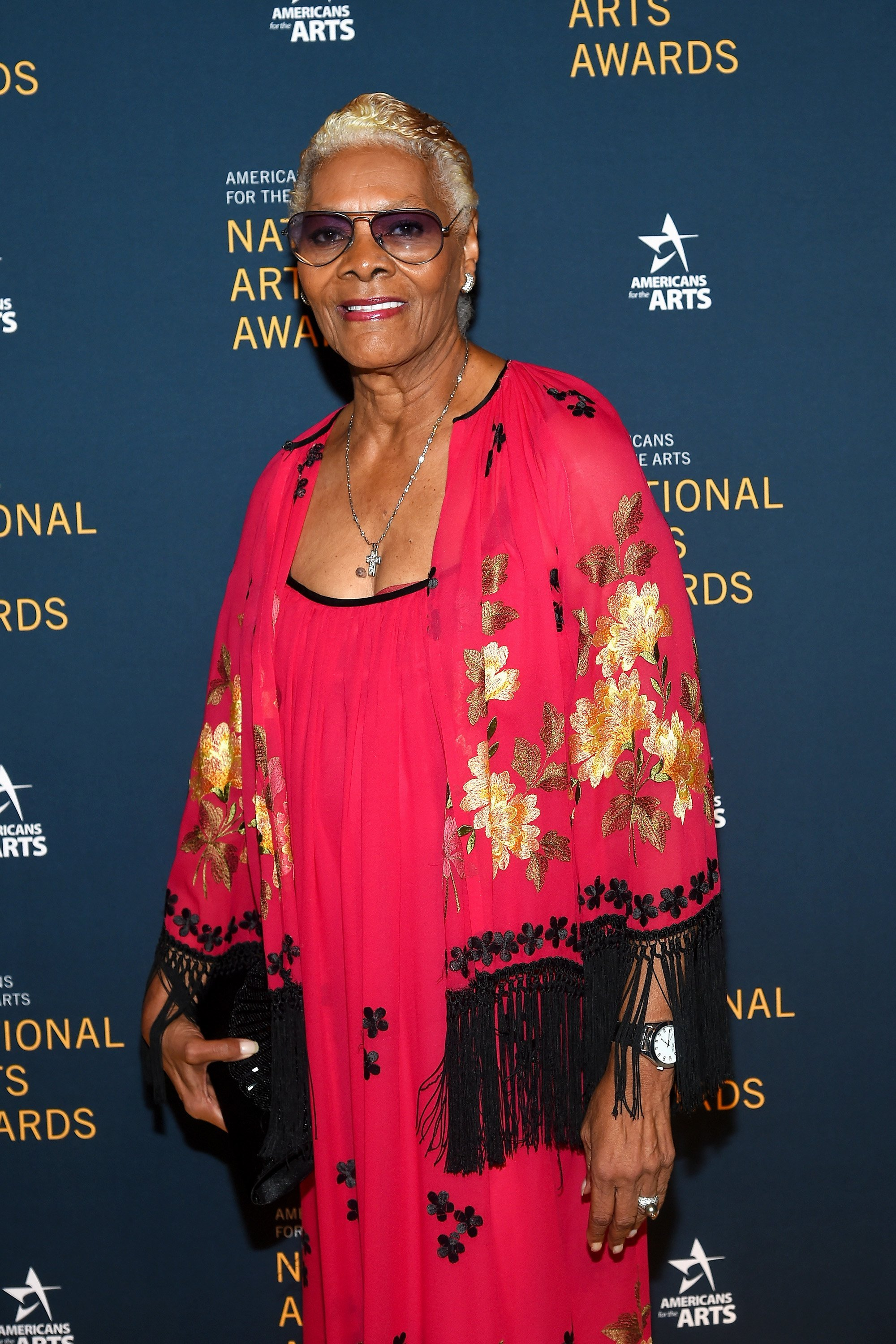 Dionne Warwick at the National Arts Awards on Oct. 23, 2017 in New York City | Photo: Getty Images