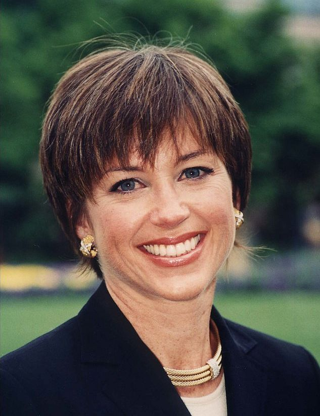 Dorothy Hamill at the Smithsonian Institute in Washington DC in 2001 | Source: Wikimedia