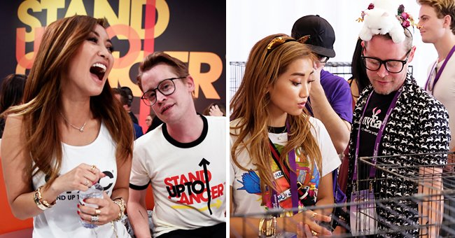 Brenda Song and Macaulay Culkin attend the sixth biennial Stand Up To Cancer (SU2C) telecast at the Barkar Hangar on Friday, September 7, 2018 in Santa Monica, California and on the next image the actors attend the adoption fair during 2019 CatCon at Pasadena Convention Center on June 29, 2019 in Pasadena, California   Photo: Getty Images