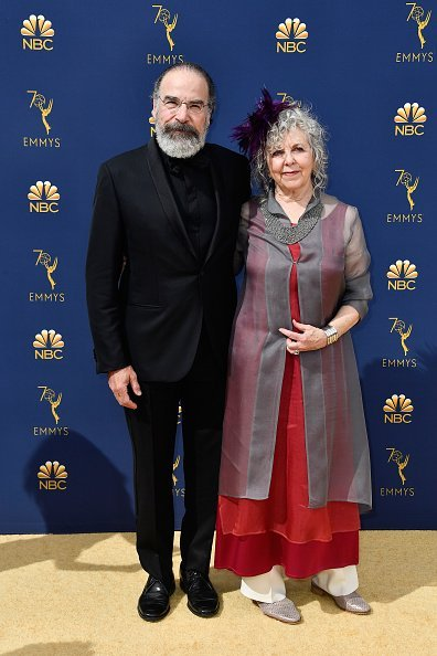 Mandy Patinkin (L) and Kathryn Grody attend the 70th Emmy Awards at Microsoft Theater on September 17, 2018 in Los Angeles, California. | Source: Getty Images.