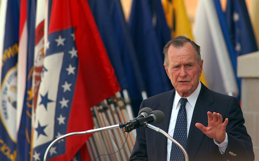 George H.W. Bush, 41st President of the United States | Photo: Logan Mock-Bunting/Getty Images