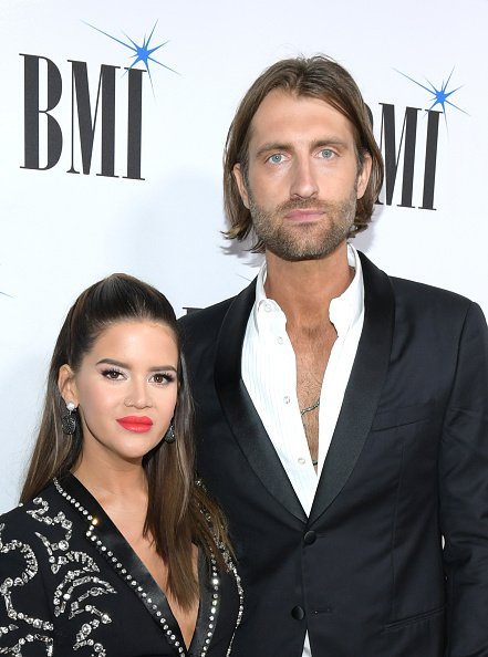 Maren Morris and Ryan Hurd at BMI on November 12, 2019 in Nashville, Tennessee. | Photo: Getty Images