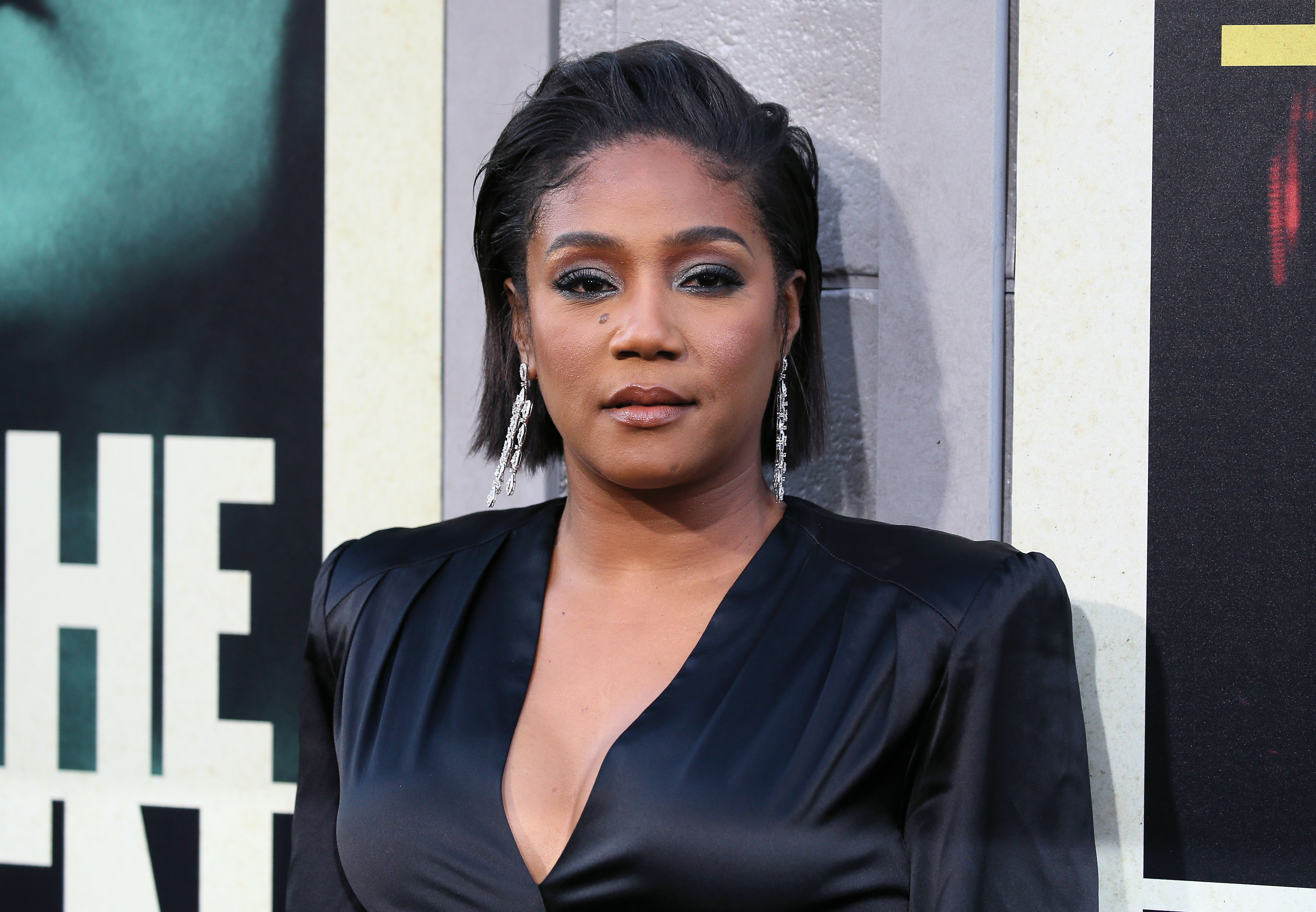 """Tiffany Haddish at the premiere of """"The Kitchen"""" in August 2019 in Hollywood 