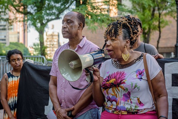Gwen Carr, mother of Eric Garner   Photo: Getty Images