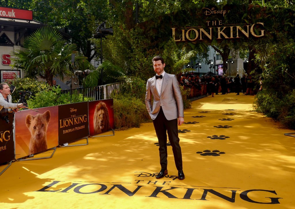 "Billy Eichner, attend ""The Lion King"" European Premiere at Leicester Square in London 