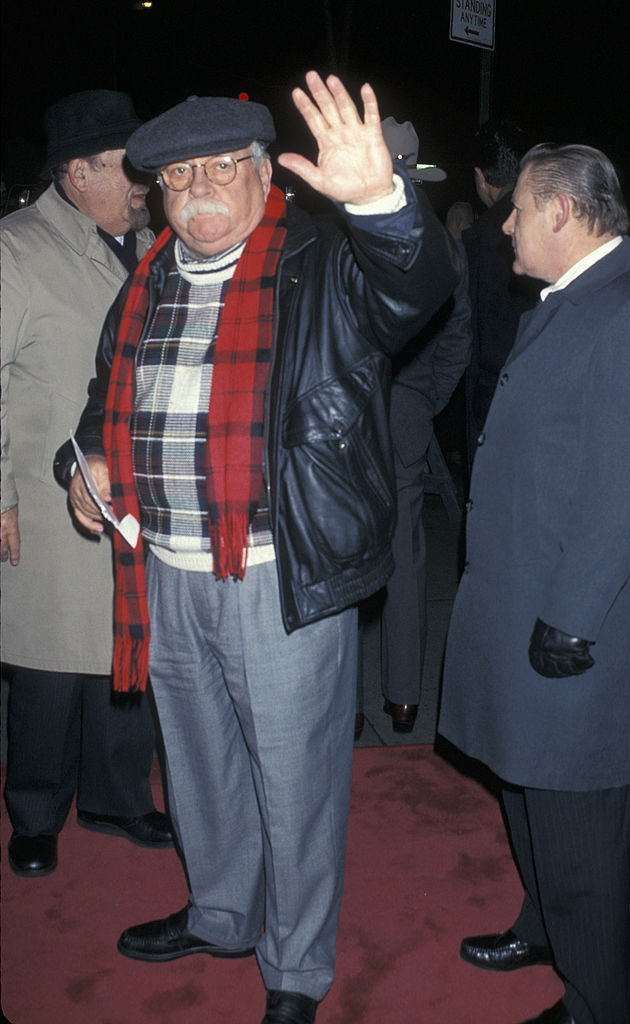 """Wilford Brimley attends the screening of """"Last Stand at Saber River"""" in New York City on January 16. 1997 