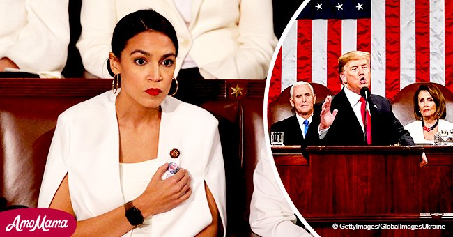 Viewers called stone-faced Ocasio-Cortez during SOTU 'absolutely miserable' and 'bratty'