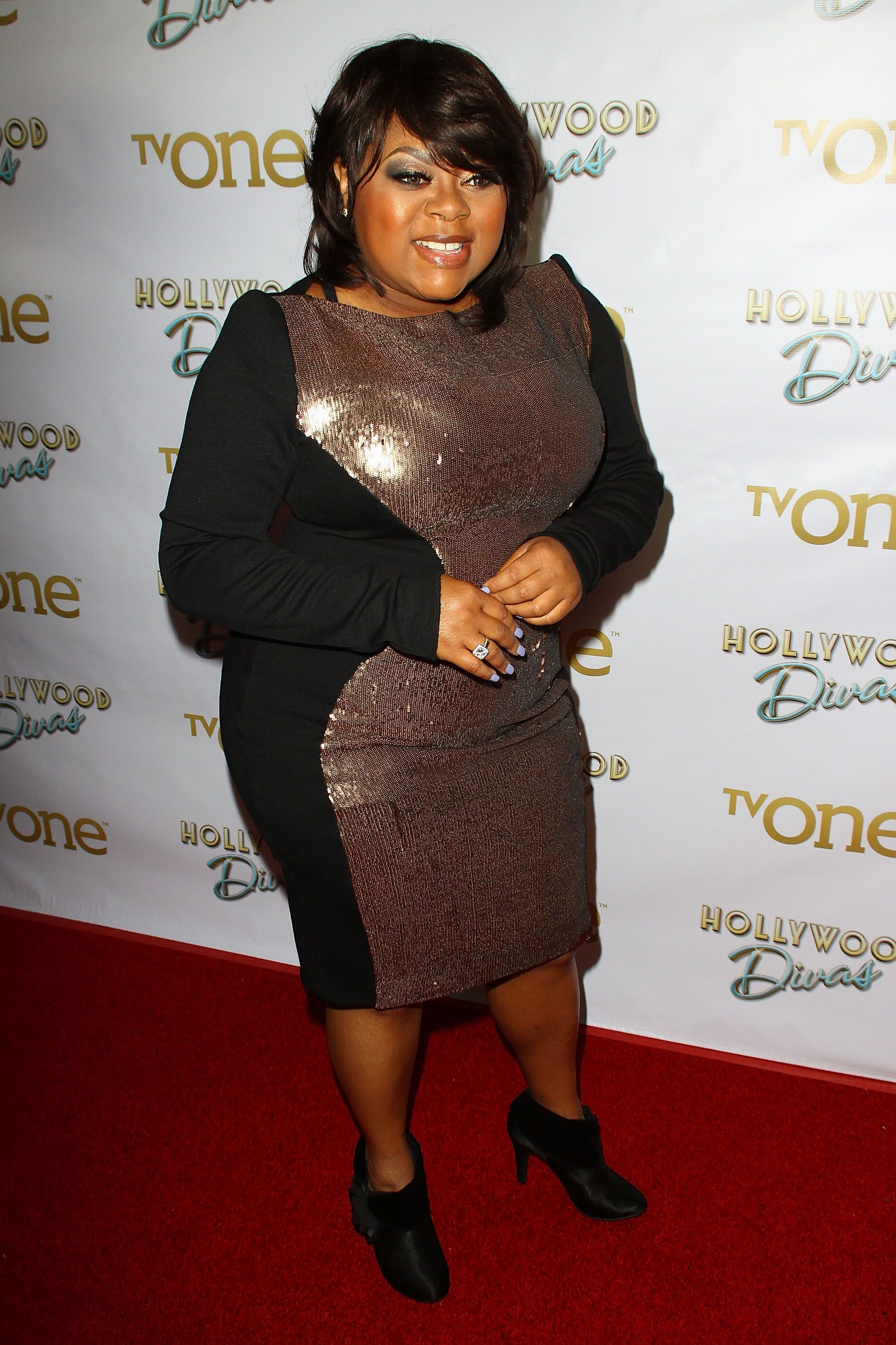 "Countess Vaughn attends a TVOne event for ""Hollywood Divas"" 