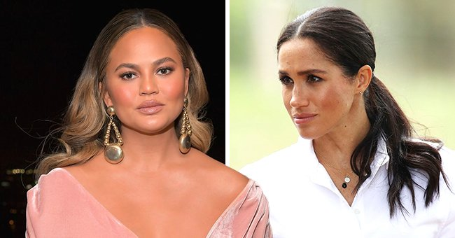 Chrissy Teigen Defends Meghan Markle from Troll after Miscarriage News Months after Losing Baby