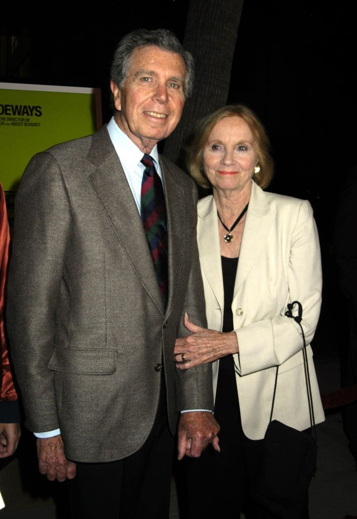 """Jeffrey Hayden and Eva Marie Saint during """"Sideways"""" Los Angeles Premiere - Arrivals at Academy of Motion Pictures Arts and Sciences in Beverly Hills on October 12, 2004. 