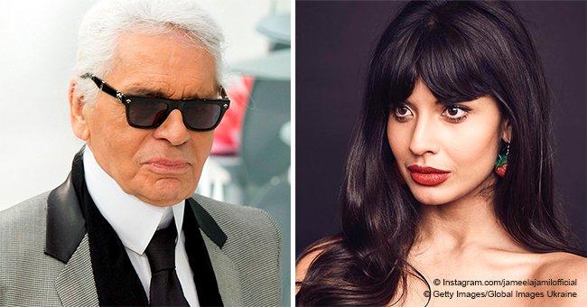 Jameela Jamil qualifie Karl Lagerfeld de
