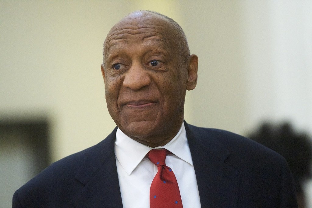Bill Cosby at the Montgomery County Courthouse in Pennsylvania in April 2018 | Source: Getty Images