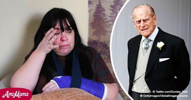 """La maman qui s'est cassée le poignet dans un accident de voiture avec le prince Philip dit qu'il devrait """"absolument"""" être poursuivi en justice"""