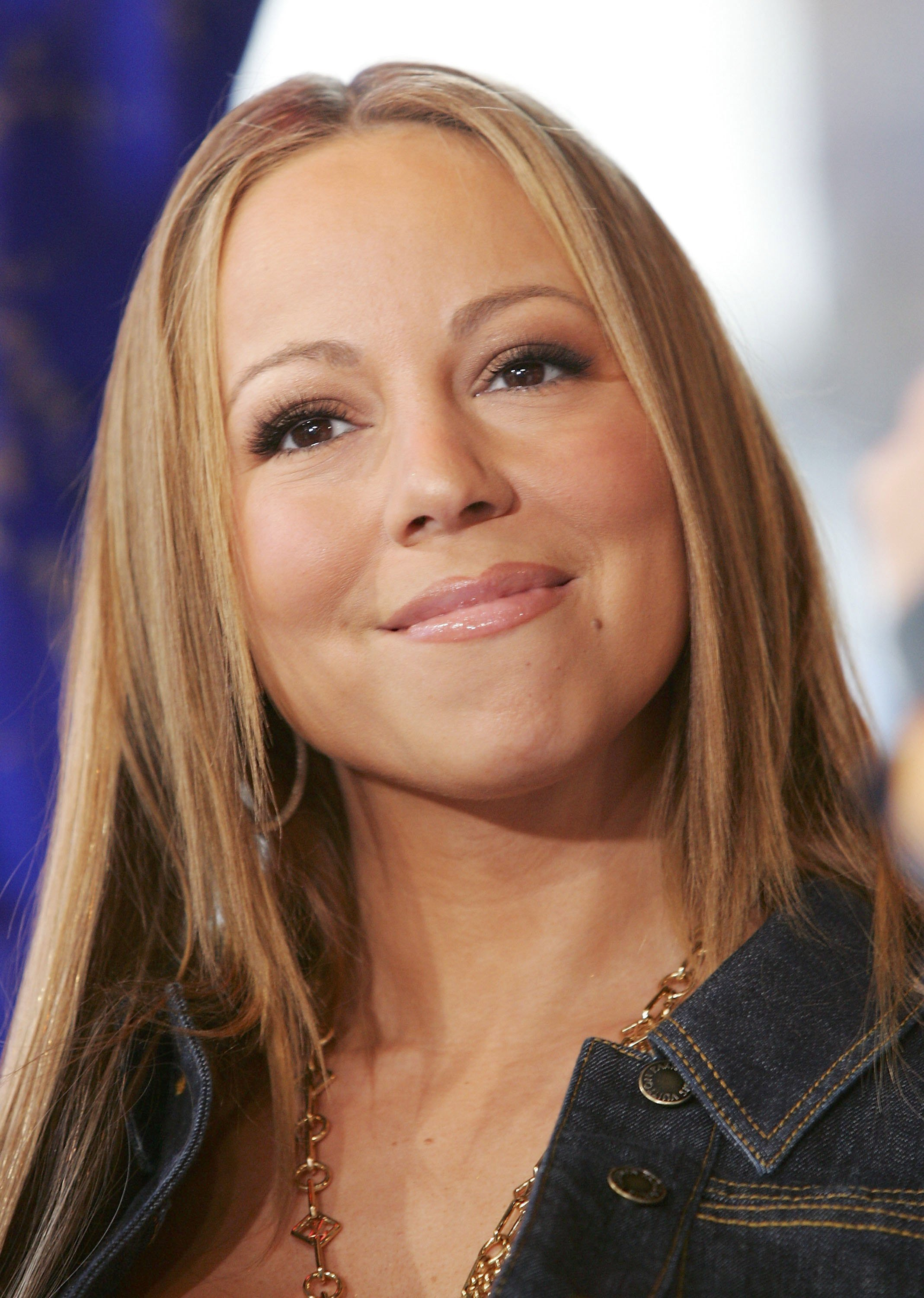 Mariah Carey making an appearance at MTV's Total Request Live in April 2006. | Photo: Getty Images