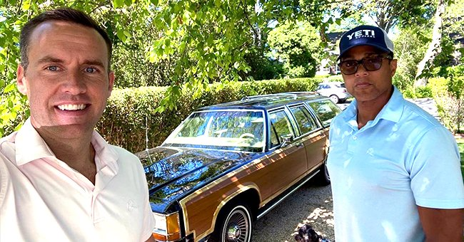 CNN's Don Lemon and Fiancé Tim Malone Pose with Their Vintage Car in a New Snap