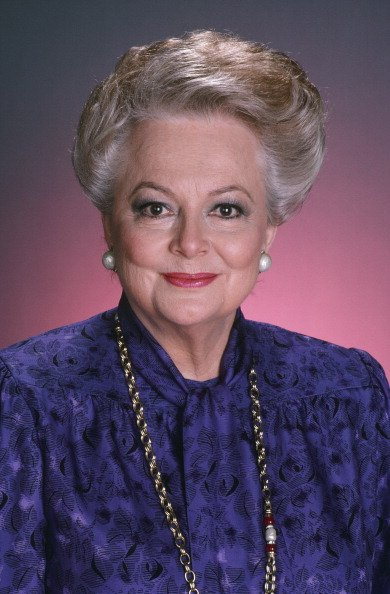 Olivia de Havilland pictured in 1986. | Photo: Getty Images