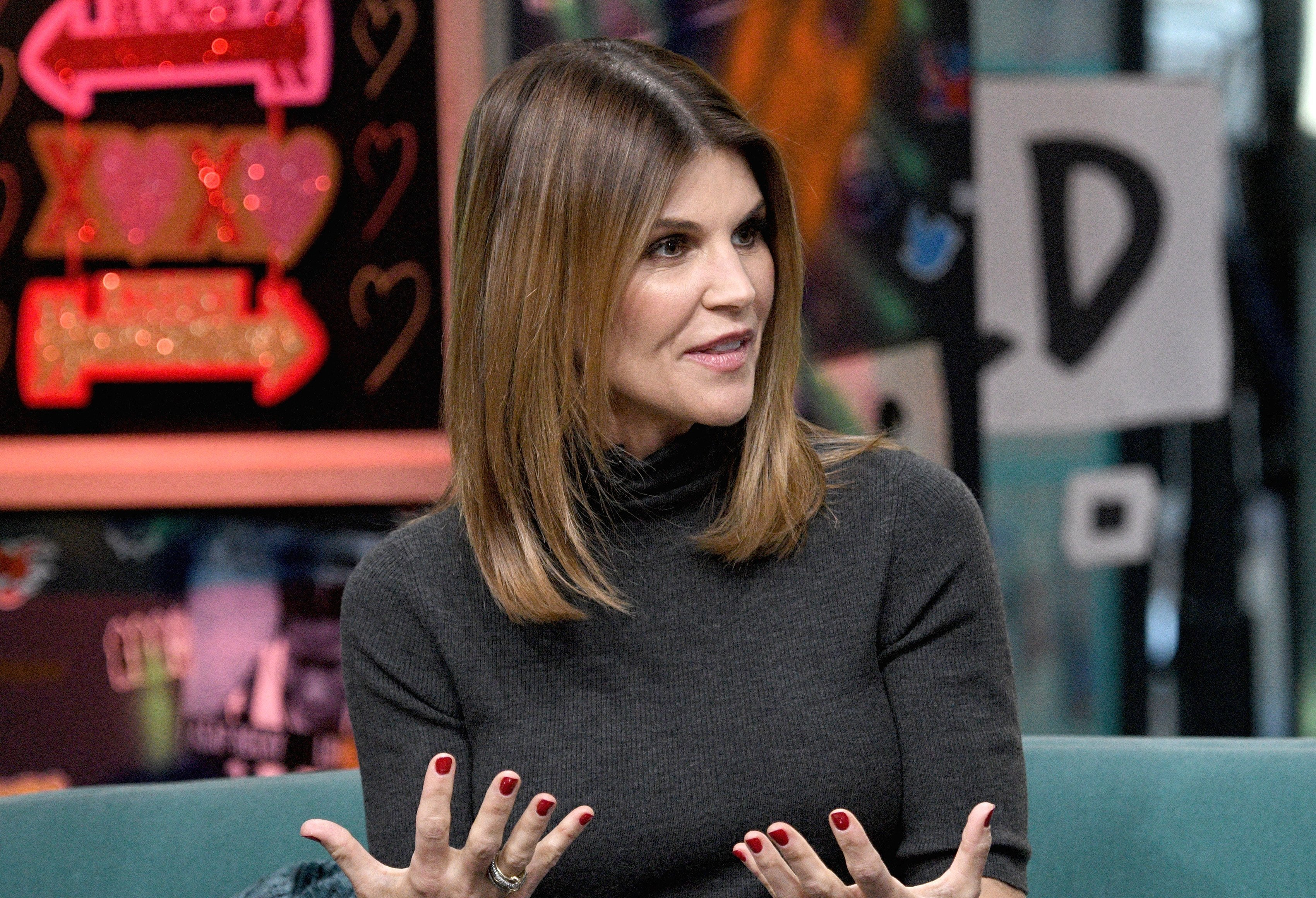 Lori Loughlin visits the Build Brunch to discuss the Hallmark Channel TV series 'When Calls the Heart' at Build Studio on February 14, 2019 | Photo: GettyImages