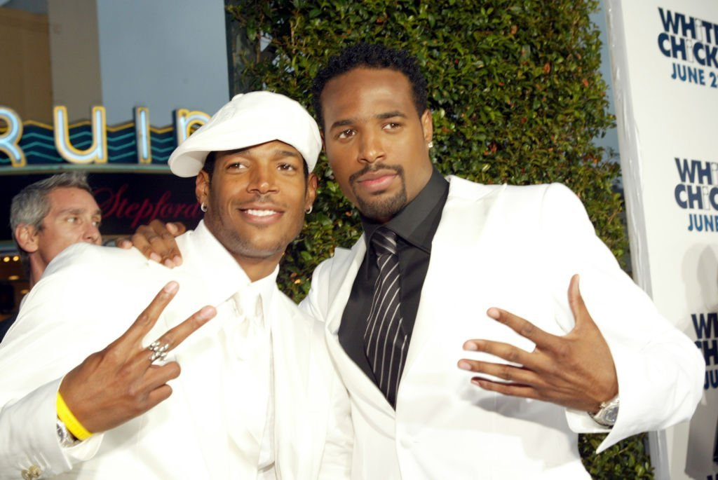 "Marlon and Shawn Wayans at the Los Angeles premiere of ""White Chicks."" 
