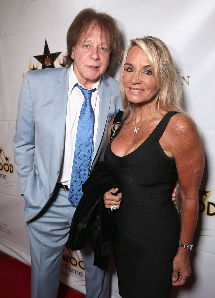 Eddie Money and Laurie Money attend the Hollywood Walk of Fame Honors in Los Angeles, California on October 25, 2016 | Photo: Getty Images