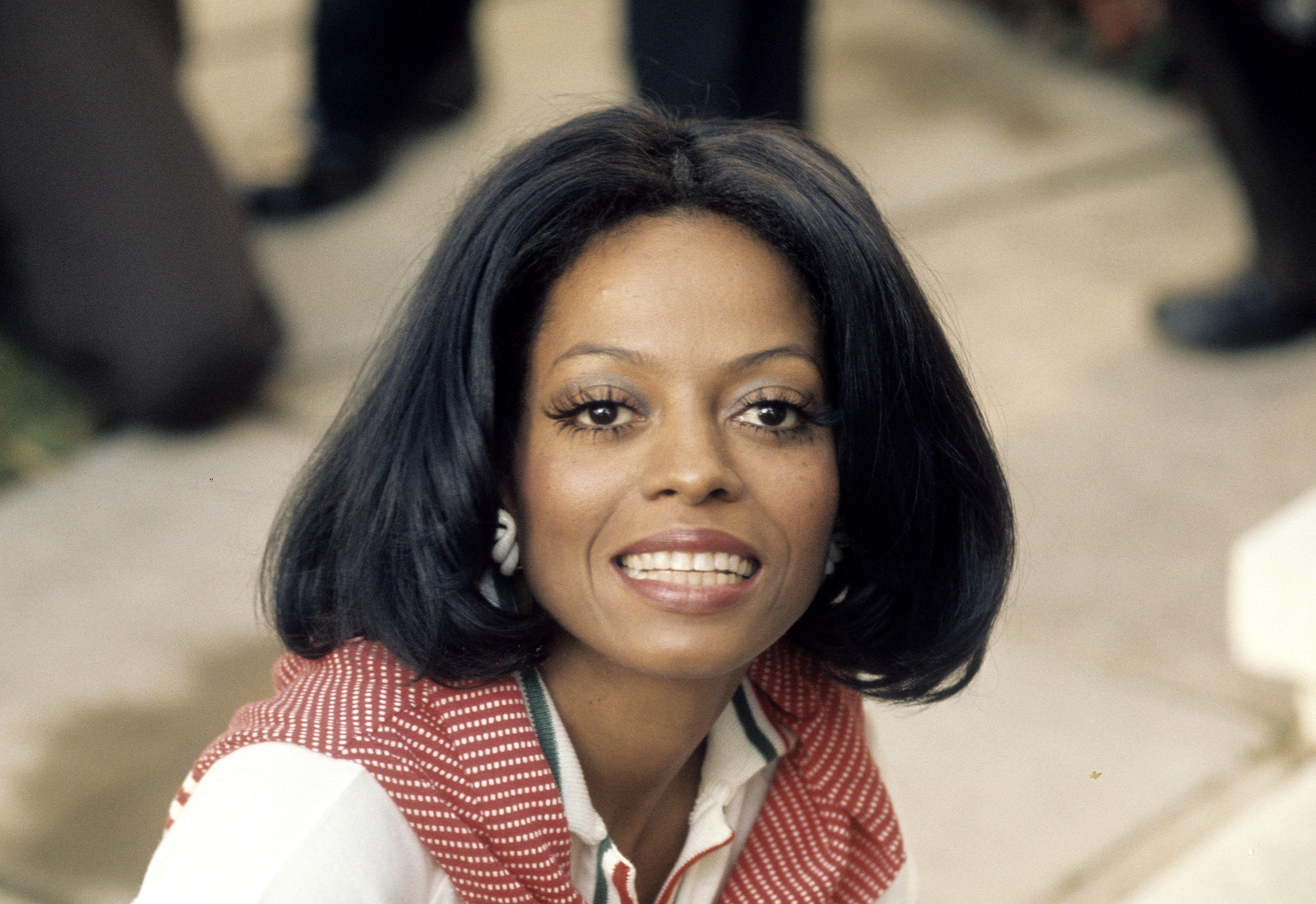 Singer Diana Ross visits London to promote her new album in September 1973. | Photo: GettyImages