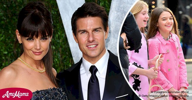 Tom Cruise and Katie Holmes' daughter Suri is growing into the spitting image of her mother