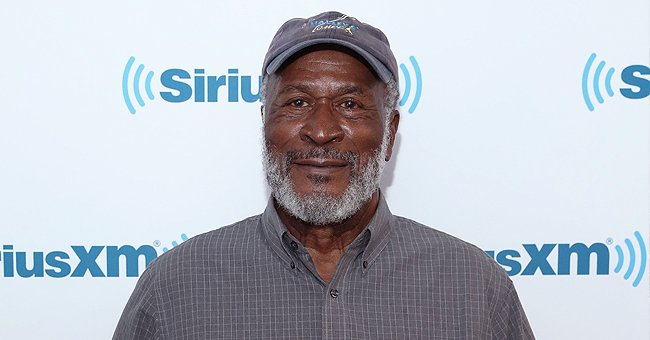 'Good Times' Star John Amos Poses in a Video with Only Son KC — Fans Say They Look like Twins