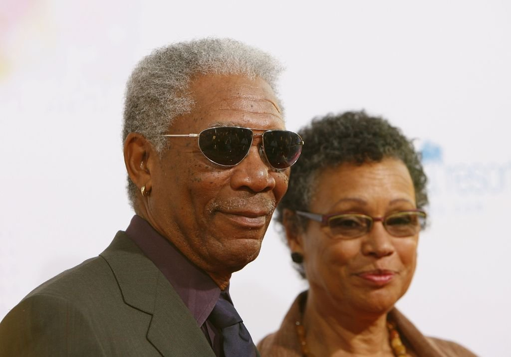 "Morgan Freeman and  Myrna Colley-Lee at the premiere of MGM's ""Feast of Love"" at the Academy of Motion Picture Arts and Sciences on September 25, 2007. 