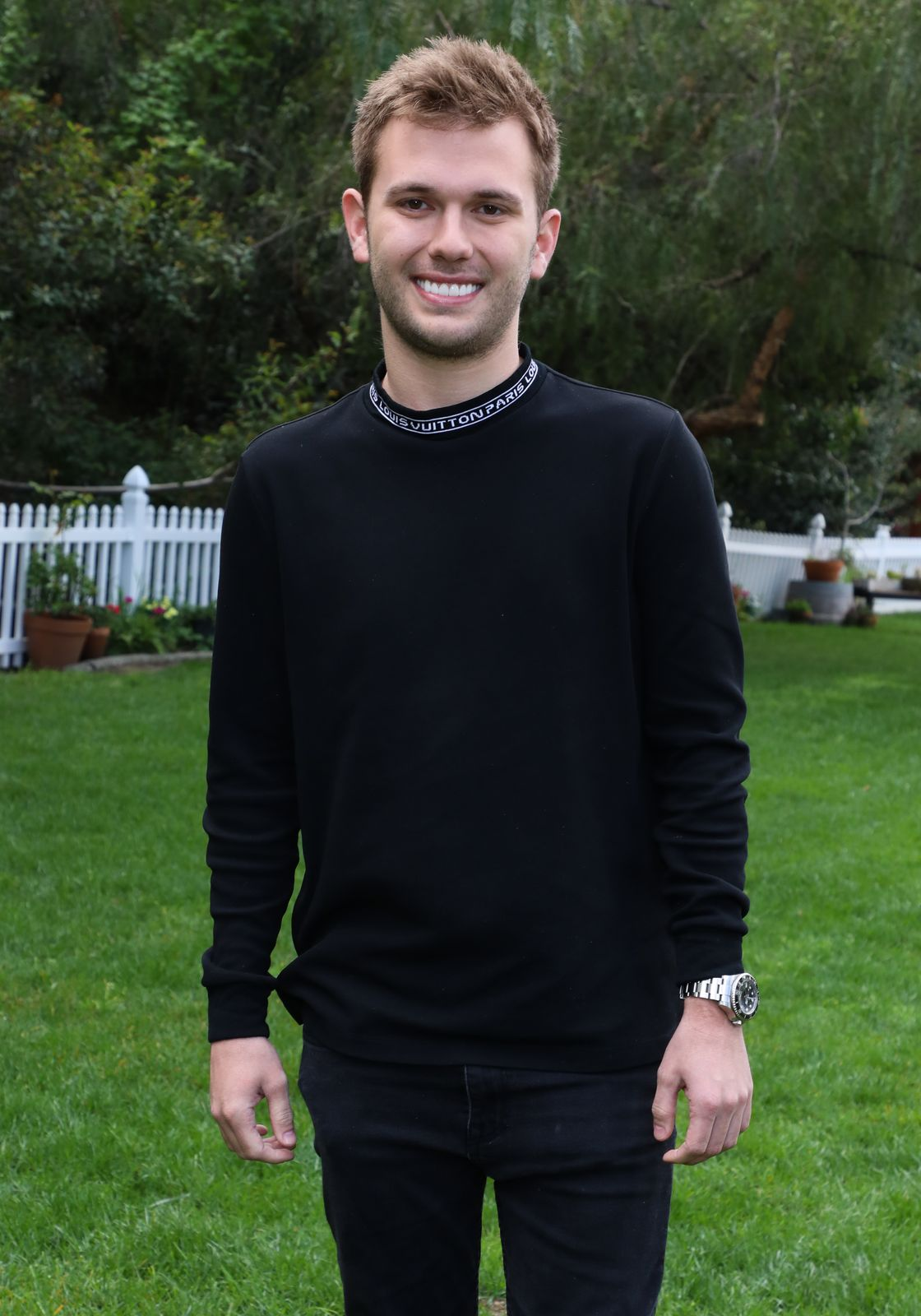 """Chase Chrisley visits Hallmark's """"Home & Family"""" at Universal Studios Hollywood on March 27, 2019, in Universal City, California 