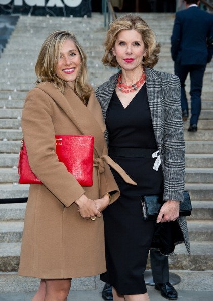 Isabel Murphy and Christine Baranski at the State Supreme Courthouse on April 23, 2014 in New York City. | Photo: Getty Images