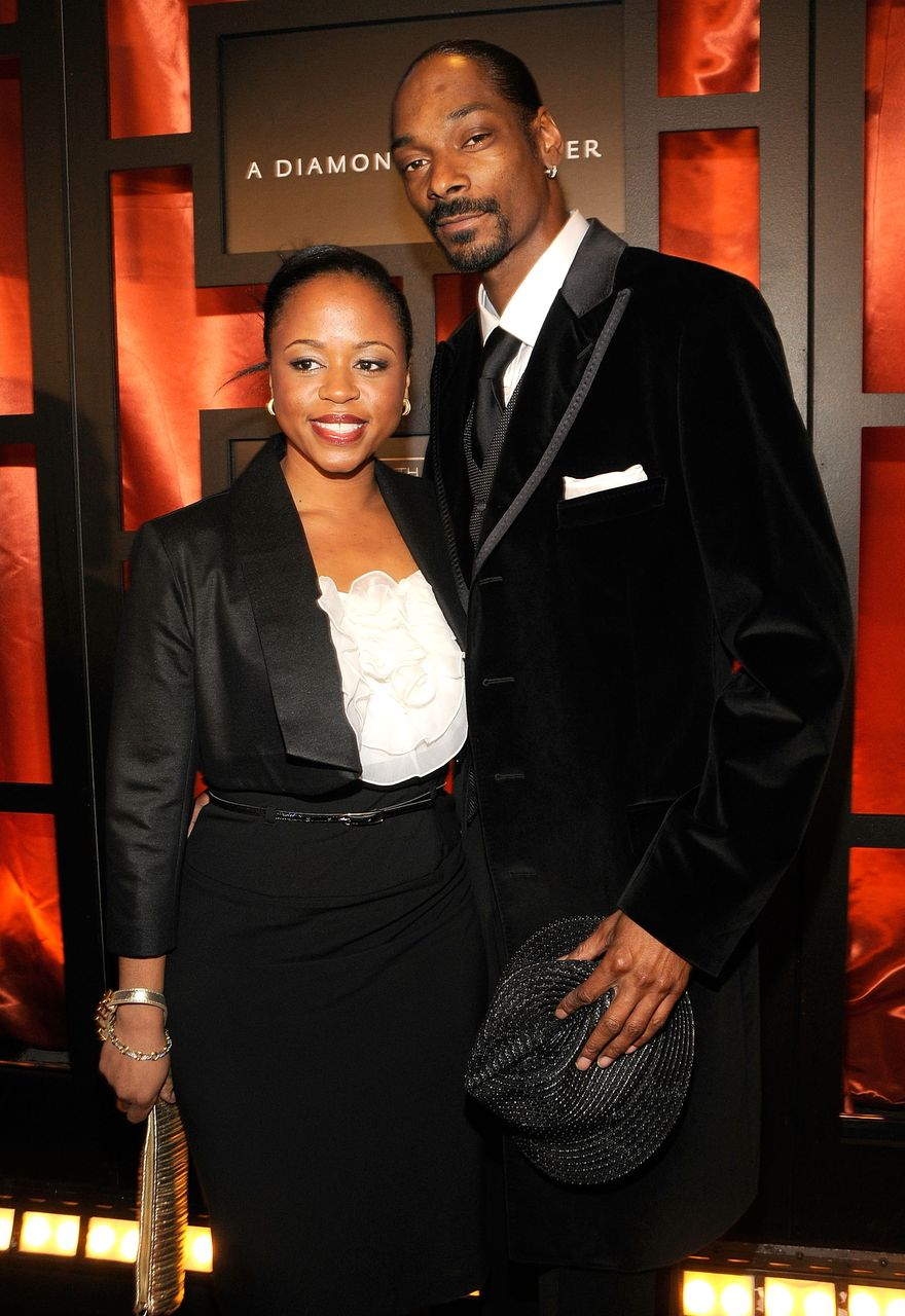 Shante Broadus and Snoop Dogg during the 13th Annual Critics' Choice Awards at the Santa Monica Civic Auditorium on January 7, 2008 in Santa Monica, California. | Source: Getty Images