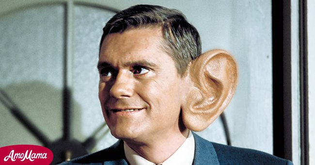 """Dick York filming """"Bewitched"""" Season 4 in July 1967 