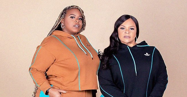 Tamela Mann & Her Daughter Tia Rock Tight Skirts & Matching Tops in This Beautiful New Photo
