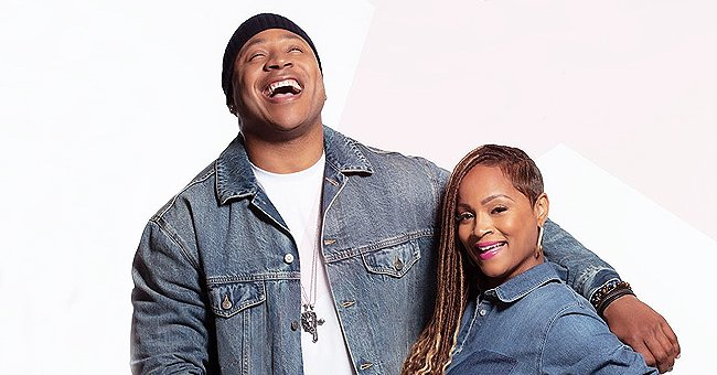 LL Cool J & His Wife Simone Steal Hearts Twinning in a Photo Dressed in Matching Denim Outfits