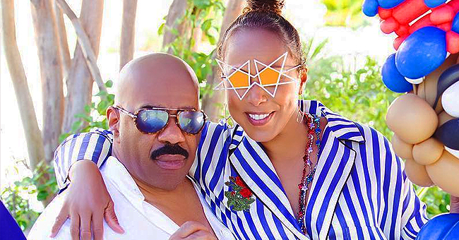 Marjorie Harvey Reacts After Steve's Daytime Talk Show Is Canceled (Video)