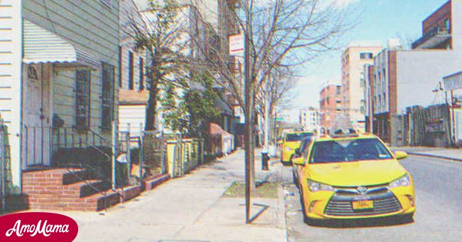 A taxi parked on the street   Source: Shutterstock