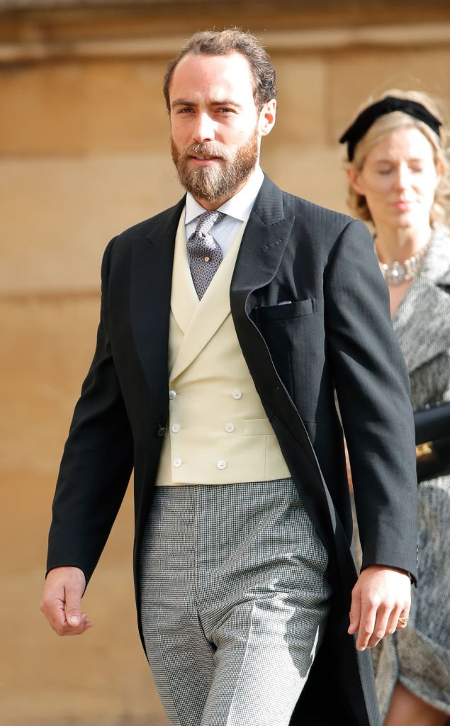 James Middleton attends the wedding of Princess Eugenie of York and Jack Brooksbank at St George's Chapel   Photo: Getty Images