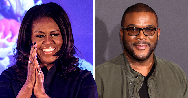 Michelle Obama Praises Tyler Perry for Opening His Own Film Studio in New Post and He Responds