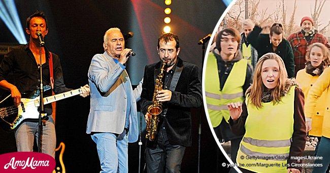 La chanson de Michel Fugain fait sensation auprès des internautes après son interprétation par des gilets jaunes