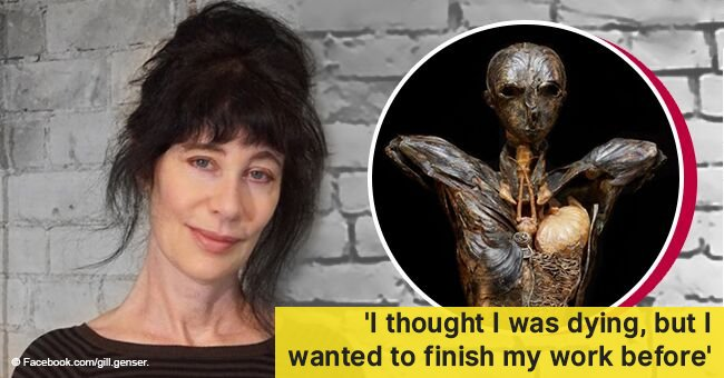 Woman worked on a sculpture for 15 years without knowing it was killing her