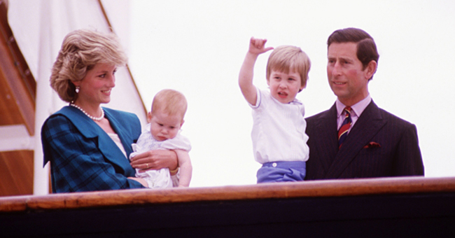 Story about Prince Harry Shouting 'I Hate You' at His Father for Making Princess Diana Cry
