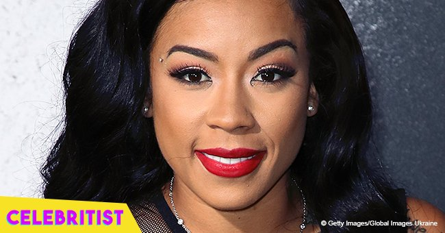 Keyshia Cole & her younger boyfriend celebrate their birthdays on luxurious vacation in videos