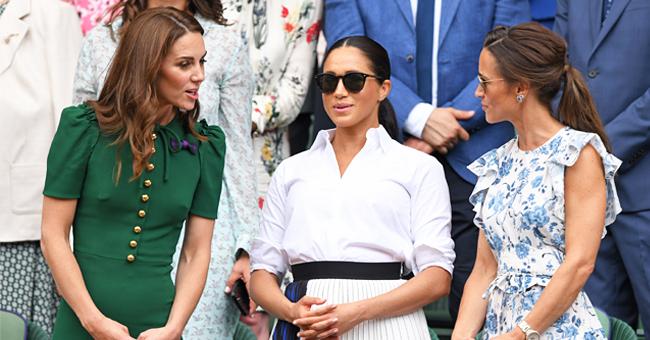 """The Sun révèle que la """"querelle"""" entre les Middletons et Meghan Markle peut être gérée par la sœur de Kate"""