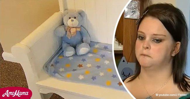 Mutter fand heraus, dass ihr Baby tot geboren wurde und verkaufte seine Krippe.... Aber sie gibt sie eine Woche später zurück