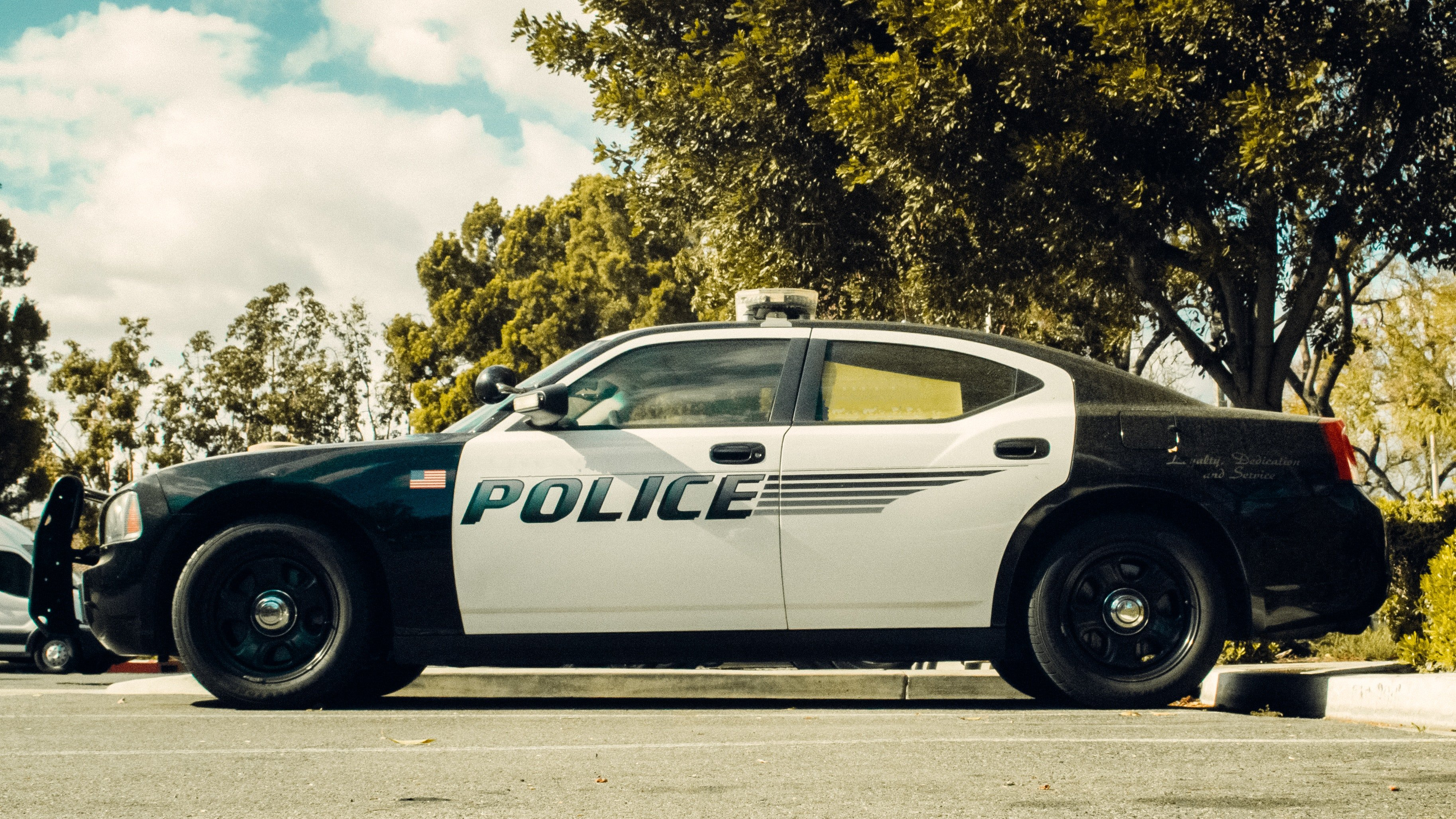 Pictured - A black and white police vehicle parked | Source: Pexels