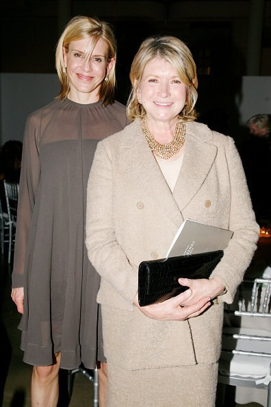 Alexis Stewart and Martha Stewart at Mt. Sinai 2nd Annual Gala at Martha Stewart Headquarters on November 10, 2009 in New York City. | Photo: Getty Images