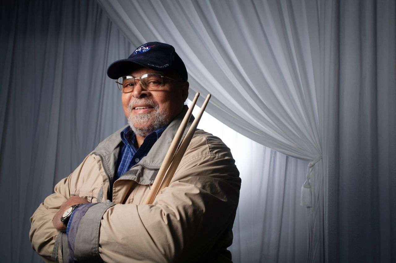 American jazz drummer Jimmy Cobb, who played on the Miles Davis album 'Kind Of Blue,' posses for a portrait on September 17, 2009   Photo: Getty Images