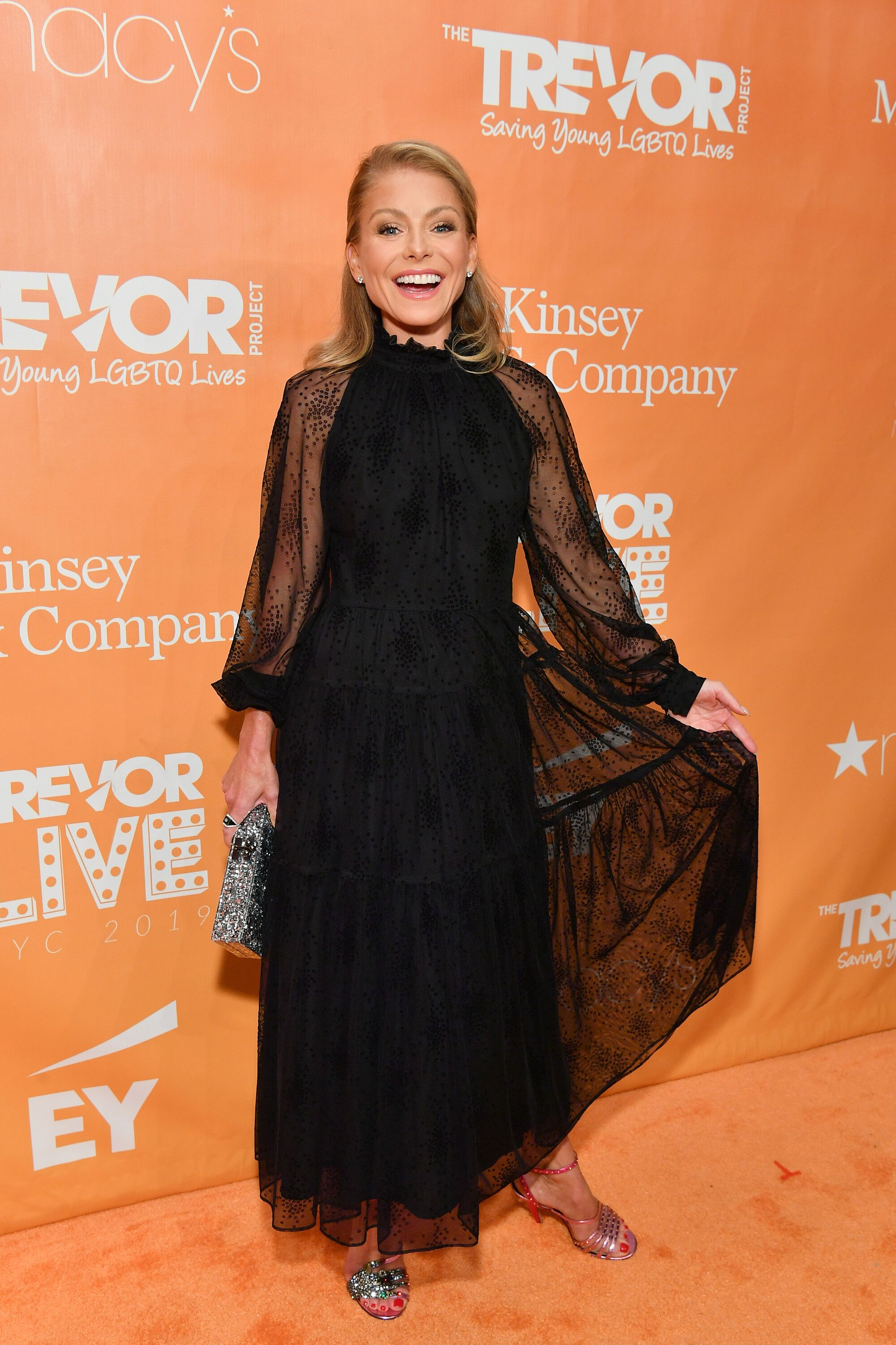 Kelly Ripa at the TrevorLIVE New York Gala on June 17, 2019, in New York City | Photo: Getty Images