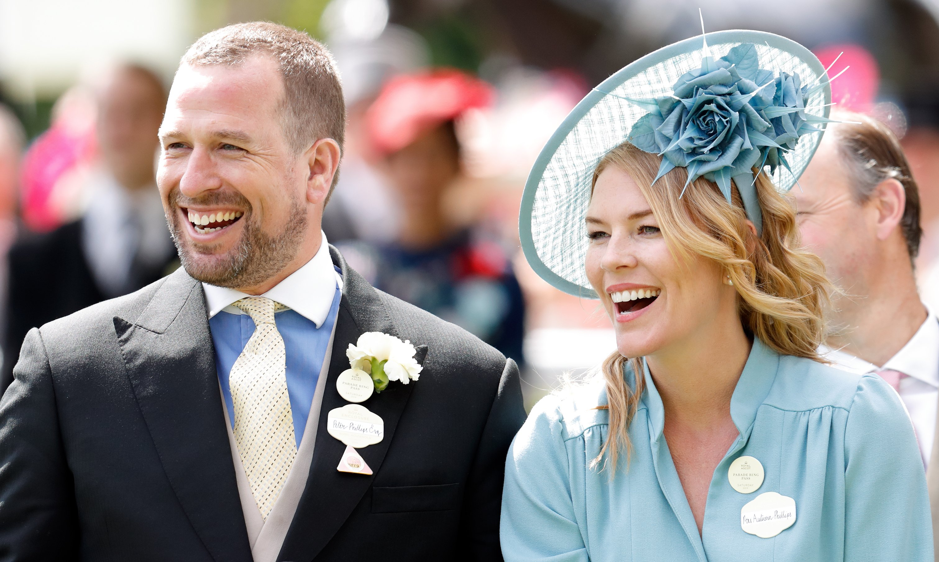 Peter Phillips and Autumn Phillips attend Royal Ascot at Ascot Racecourse on June 22, 2019 in Ascot, England | Photo: Getty Images