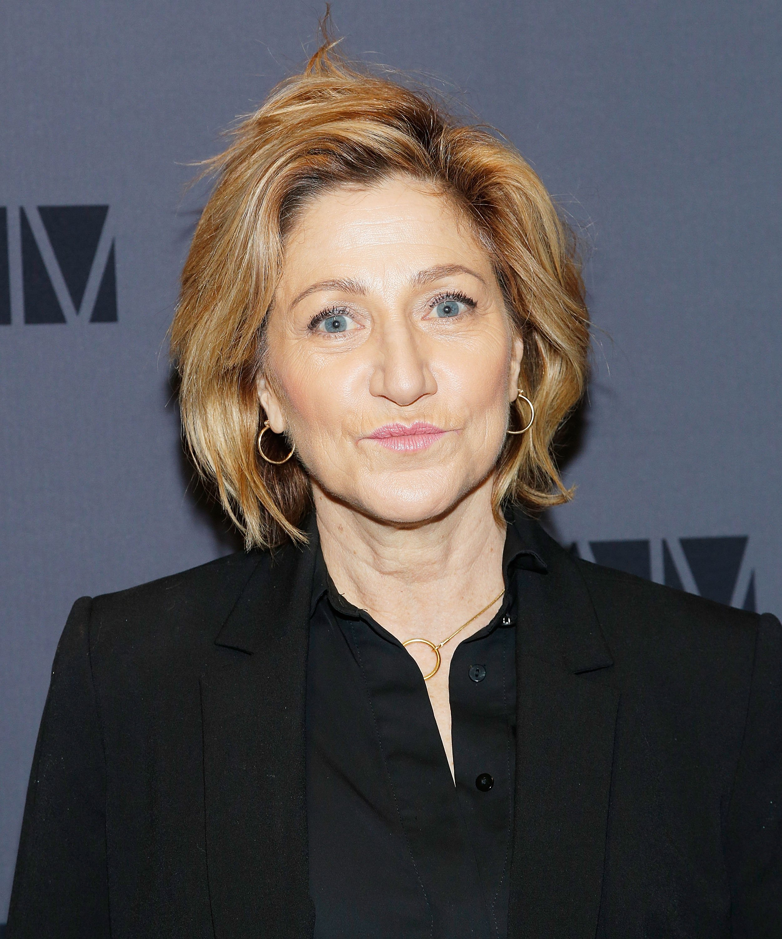 "Edie Falco at the opening night party for ""Medea"" at the BAM Harvey Theater on January 30, 2020 